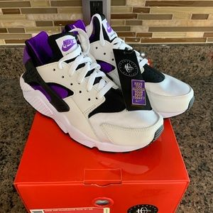 Nike air huarache run 91 QS men's size 9 white